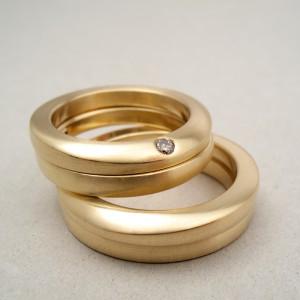 18k guld, diamant, Klara Eriksson.