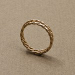 Twist ring double, Rödguld, Maki Okamoto