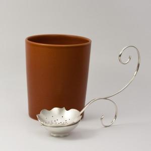 Tesil av silver, till den som älskar sitt te. Petronella Eriksson