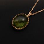 Petronella Eriksson, guld och turmalin 5400kr
