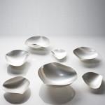 Hjärtskålar i silver av Pernilla Sylwan 1000skr