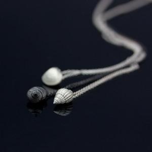 Snäckor av silver. Petronella Eriksson 1400kr