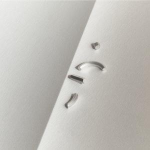Off cut silverörhänge från Makiami Arch collection. Maki Okamoto