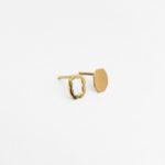 18K guld örhänge från Makiami Paper Shadow collection. Maki Okamoto