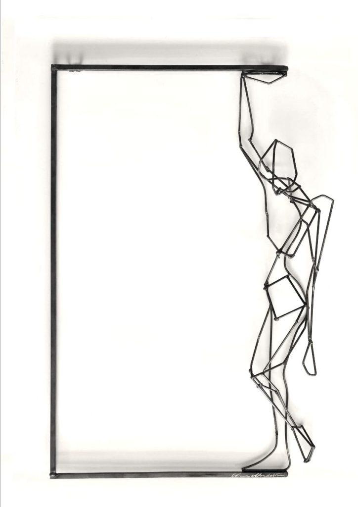 LOD ställer ut i Sadelmakarlängan, skulptur av Anna Nordström
