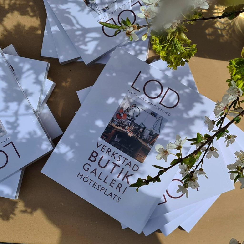 LOD boken finns nu på LOD, en bok om konsthantverk i Stockholm med LOD som mötesplats
